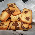 Petits financiers au nutella