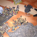 Blacks templars et spaces marines vs orks et tyranides