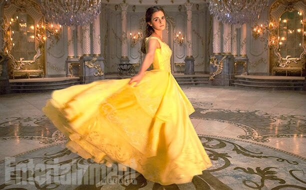 Emma Warson as Belle_Beauty & The Beast movie