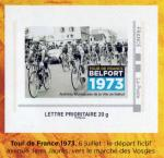 Timbre Belfort Tour de France 1973