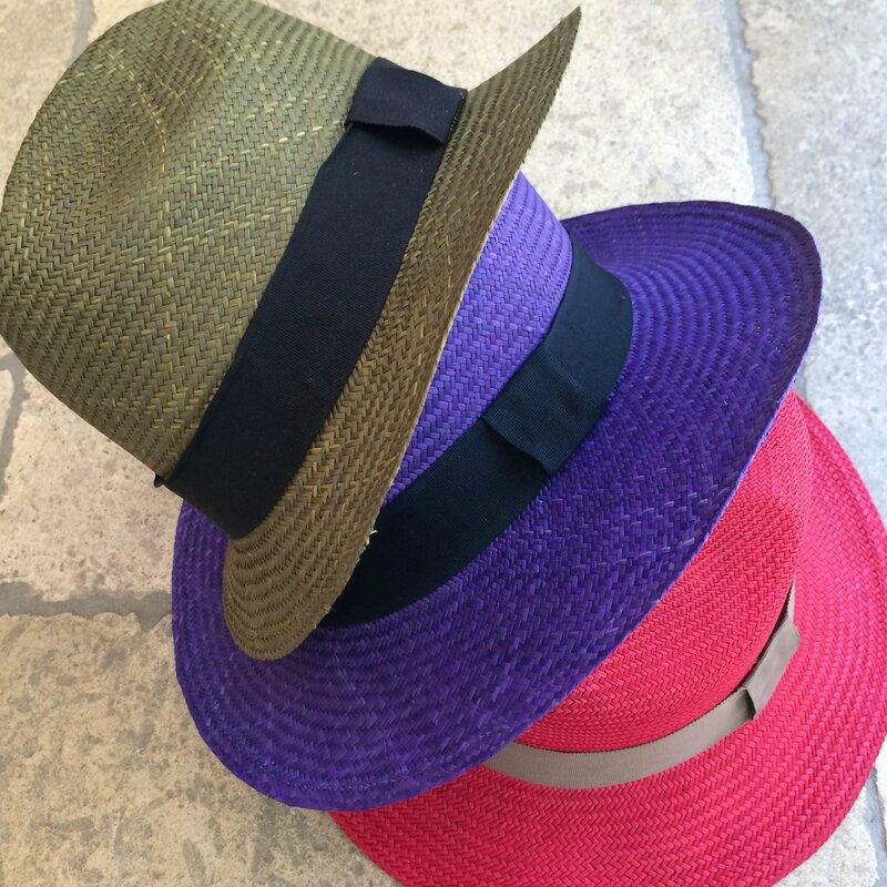 GUANABANA chapeaux tressés Colombie printemps été 2015 boutique Avant-Après 29 RUE foch 34000 Montpellier (2)