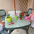 Apprendre à prendre soin d'une plante - vie pratique montessori
