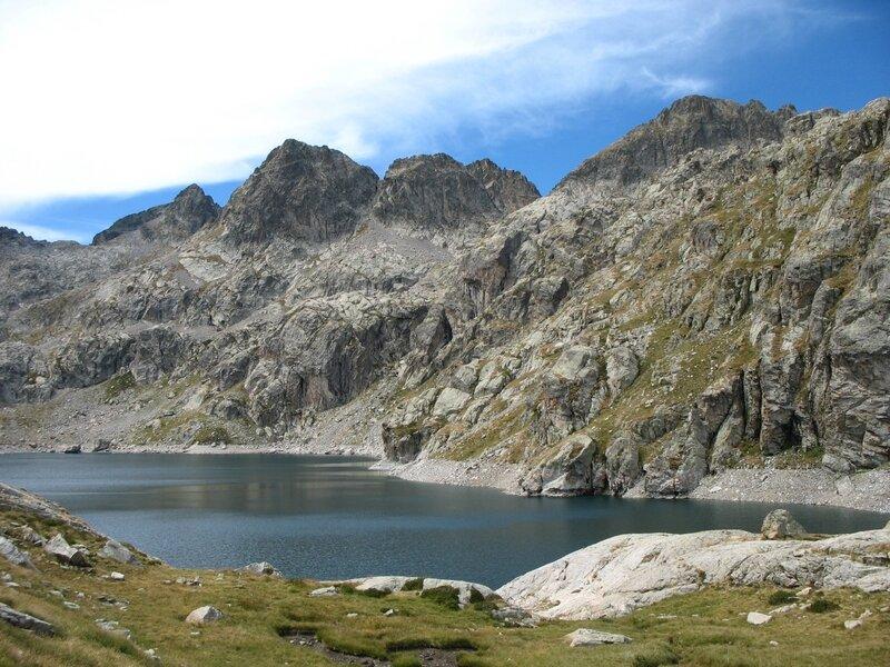 Vallée des Merveilles, lac