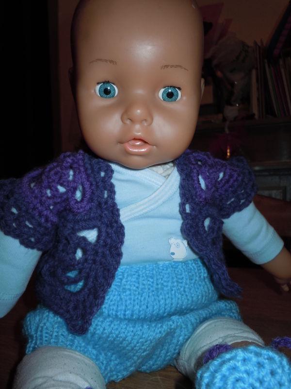 Modele Gratuit De Bolero En Granny Au Crochet Le Monde De Celenaa