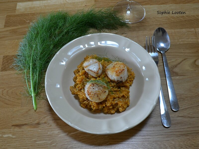 Risotto langoustines