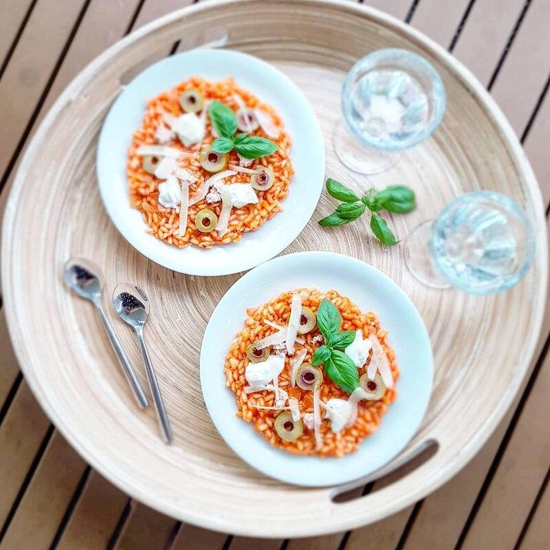 chez cathytutu cyril lignac tous en cuisisne risotto
