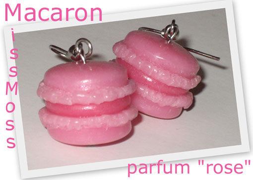 Macaron bo rose