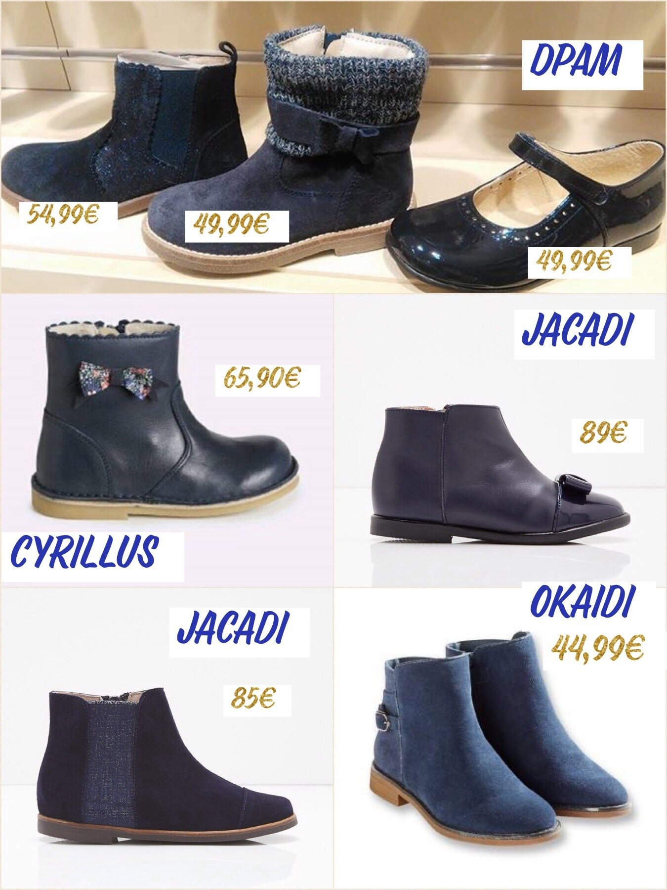 super popular order online cute Boots/Bottines Fille Hiver 2017-2018 : Ma selection ...