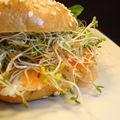 Bagel (au saumon, mon préféré!!!)