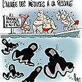 islam burka humour piscine islam=nazisme