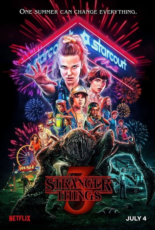 Stranger Things S3 affiche