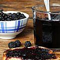 Gelée de fruits noirs {mûre-cassis-sureau}