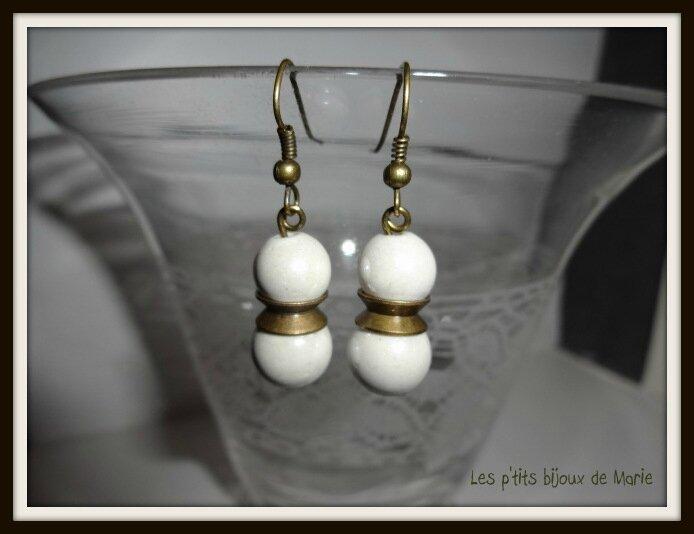 BO 2 perles nacrées