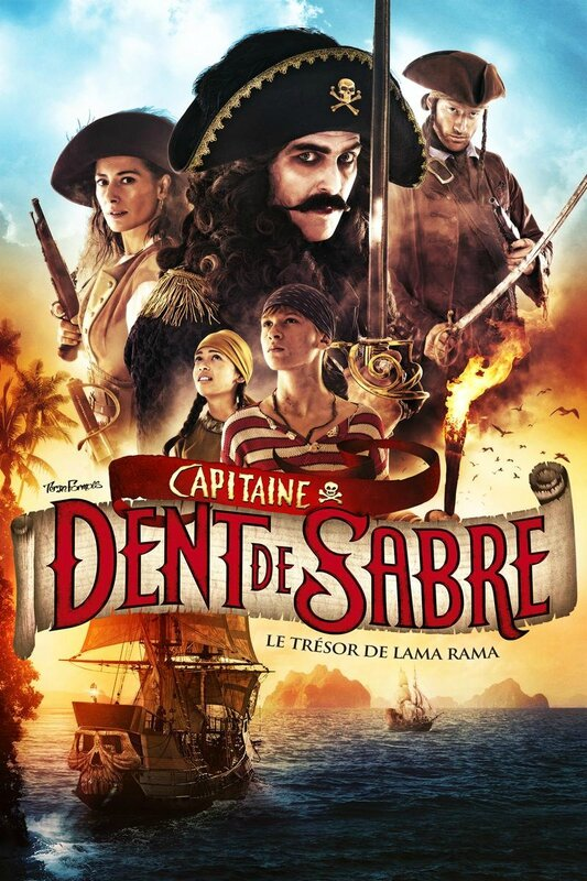 capitaine dent de sable poster