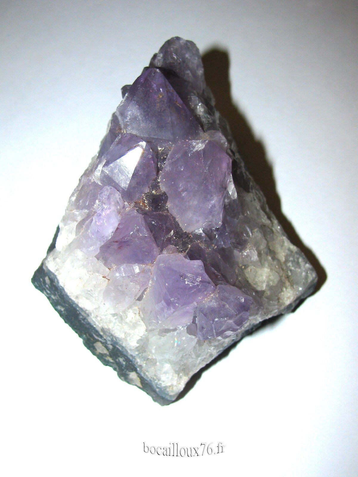 AMETHYSTE DRUSE H472 - BRESIL - COLLECTION MINERAUX