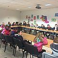 visite du centre de tri de Saint Laurent par les CM1