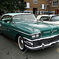 Buick century riviera hardtop sedan-1958