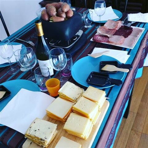 Raclette party ©Kid Friendly