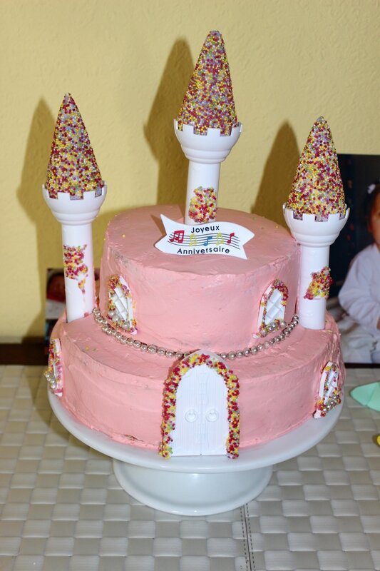 Gateau Weddind Cake Princesse