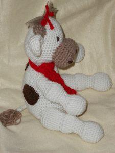 vache crochet'