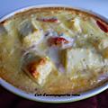 Flan de tomate au fromage de chèvre