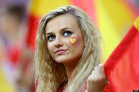 supportrice espagnole