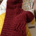 Channel cardigan : mon nouveau challenge tricotesque !