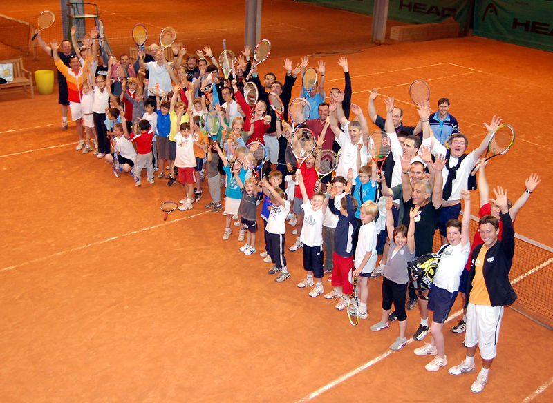 photo fête de l'école de tennis