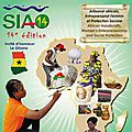 Siao 2014 - salon international de l'artisanat de ouagadougou