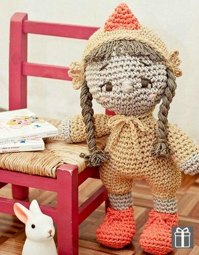 lapin fille poupée katia
