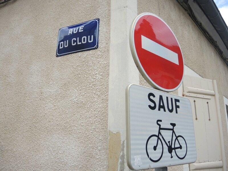 Nevers, rue du Clou (58)