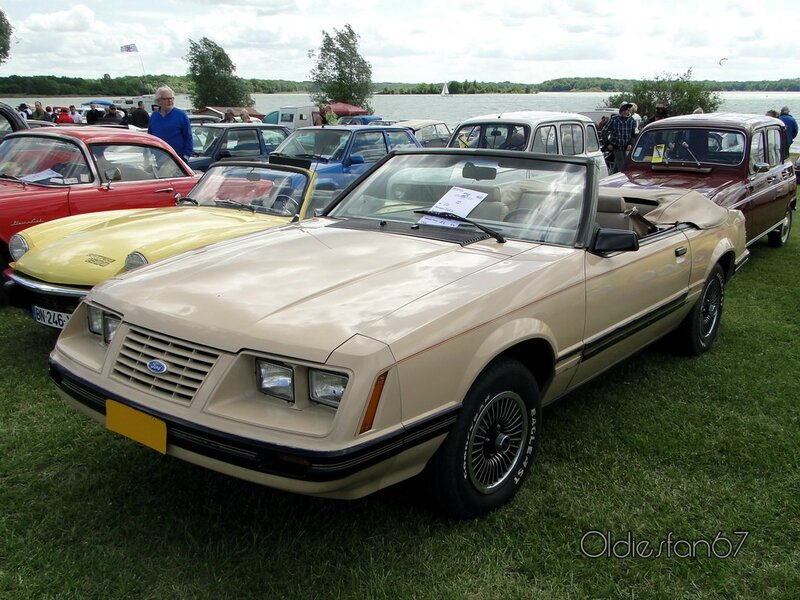 ford mustang convertible 1979 1986 a