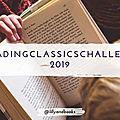 Reading classics challenge 2019
