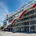 Centre national d'art et de culture georges pompidou - paris - france