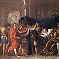CLASSICISME 1627_Mort de Germanicus_Poussin