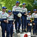Terre de langres 2013 / podiums 208 rally cup et citroen racing trophy.
