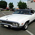 Plymouth satellite sebring plus hardtop coupe, 1972