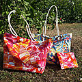 Sac cabas tropical