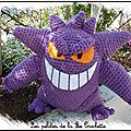 Pokemon ectoplasma (gengar) crochet