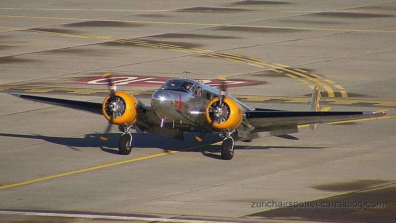 Beech Expeditor 3TM (N184KP) aviation privée 1