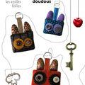 Les porte-clés doudous