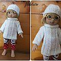 Nouvelle tenue pour les poupées ann-estelle 25 cm