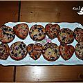 ♥ muffins aux myrtilles ♥