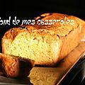 Cake salé saumon fumé/courgette