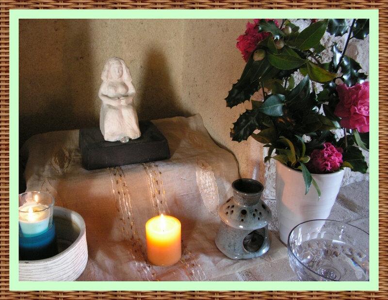 Autel d'Avalon déesse mère