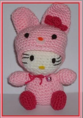 Mini hello kitty crochet#1 - YouTube | 413x290