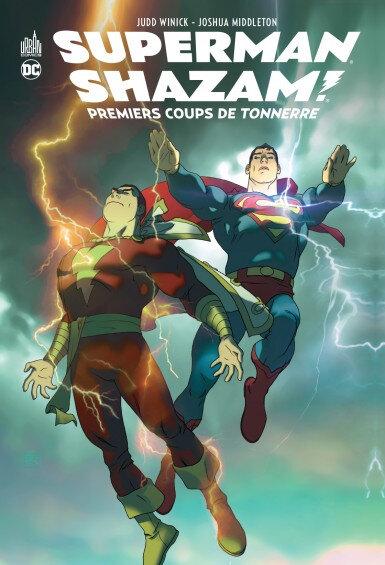 superman shazam premiers coups de tonnerre