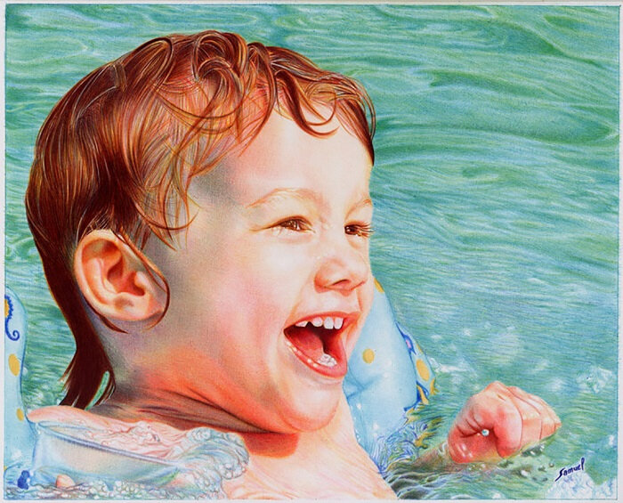 samuel silva pool_boy___ballpoint_pen