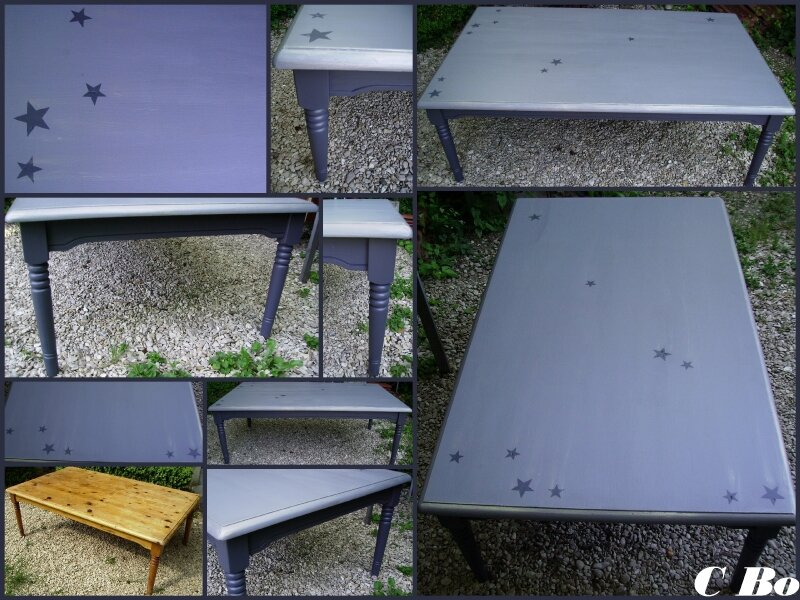 table basse montage