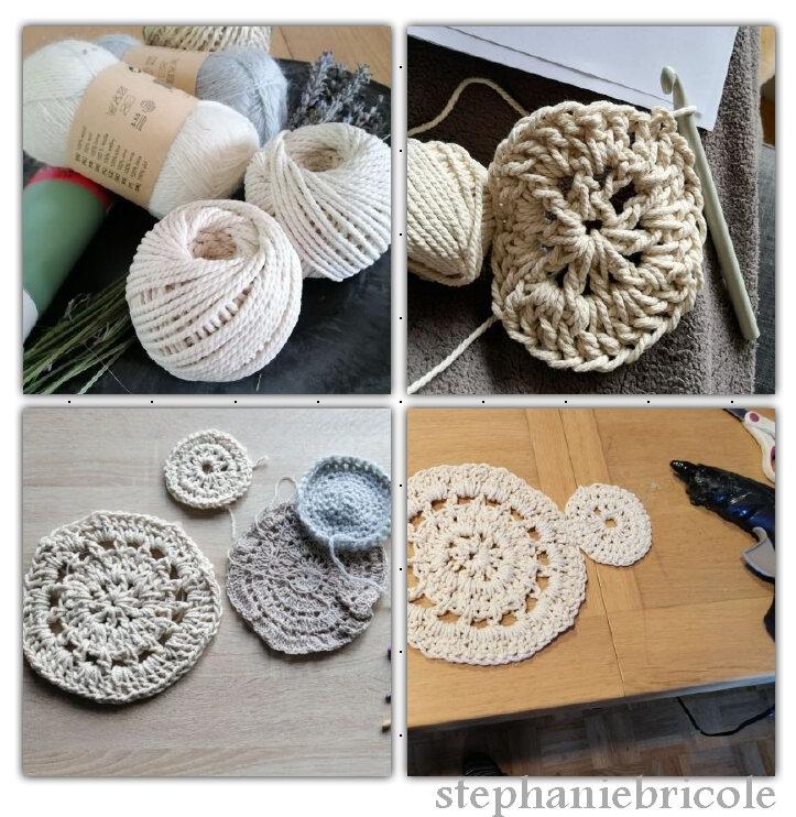deco murale crochet